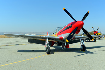 NL151D - Private North American P-51D Mustang