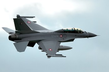 ET614 - Denmark - Air Force General Dynamics F-16BM Fighting Falcon