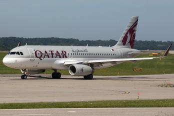 A7-AHX - Qatar Airways Airbus A320
