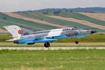 6203 - Romania - Air Force Mikoyan-Gurevich MiG-21 LanceR C