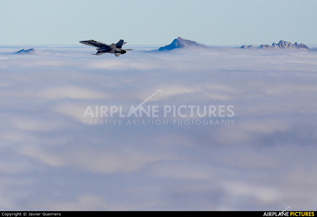 Switzerland - Air Force J-5024 aircraft at Axalp - Ebenfluh Range