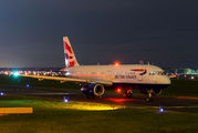 G-EUUZ - British Airways Airbus A320 aircraft