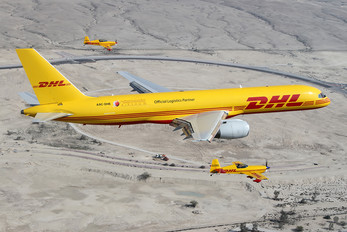 A9C-DHE - DHL Cargo Boeing 757-200F