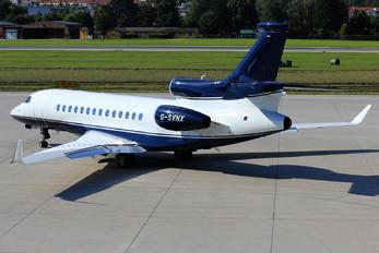 G-SVNX - Private Dassault Falcon 7X