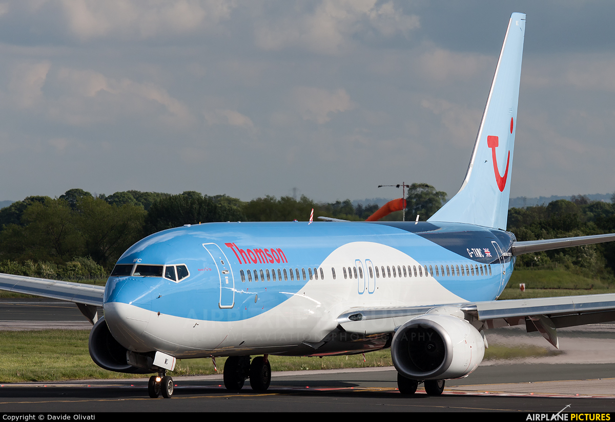 Thomson/Thomsonfly G-TAWC aircraft at Manchester
