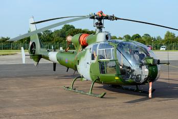 XZ334 - UK - Army Air Corps Aerospatiale SA-341 / 342 Gazelle (all models)