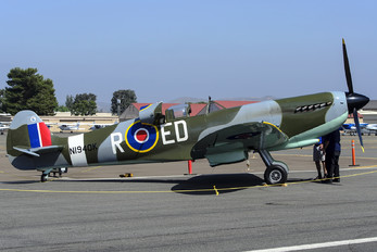 N1940K - Private Depford Spitfire IX replica