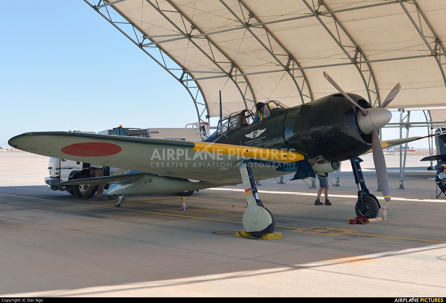 American Airpower Heritage Museum (CAF) N712Z aircraft at El Centro NAS
