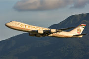 N855GT - Etihad Cargo Boeing 747-8F aircraft