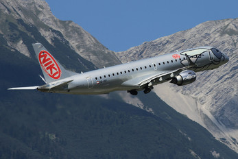 OE-IXF - Niki Embraer ERJ-190 (190-100)