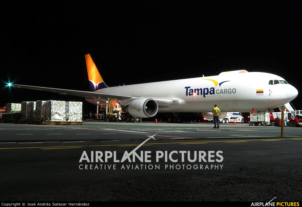 Tampa Colombia N771QT aircraft at San Jose - Juan Santamaría Intl