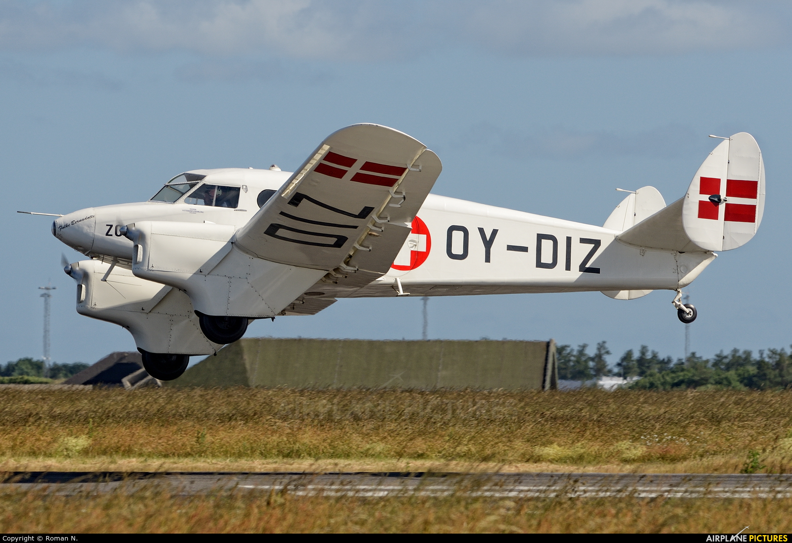 Private OY-DIZ aircraft at Karup