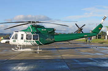 PNC0801 - Colombia - Police Bell 412EP