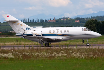 TC-SBL - Private Raytheon Hawker 850XP
