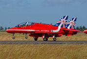 "XX177 - Royal Air Force ""Red Arrows"" British Aerospace Hawk T.1/ 1A aircraft"