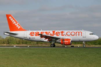G-EZGB - easyJet Airbus A319