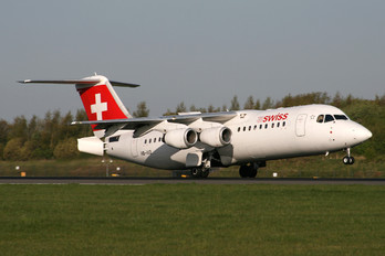 HB-IXQ - Swiss British Aerospace BAe 146-300/Avro RJ100