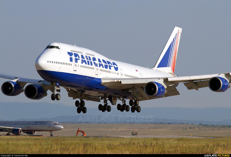 Transaero Airlines EI-XLC aircraft at Simferepol Intl