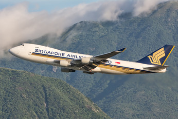 9V-SFP - Singapore Airlines Cargo Boeing 747-400F, ERF
