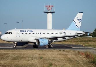 F-GXAH - Aigle Azur Airbus A319