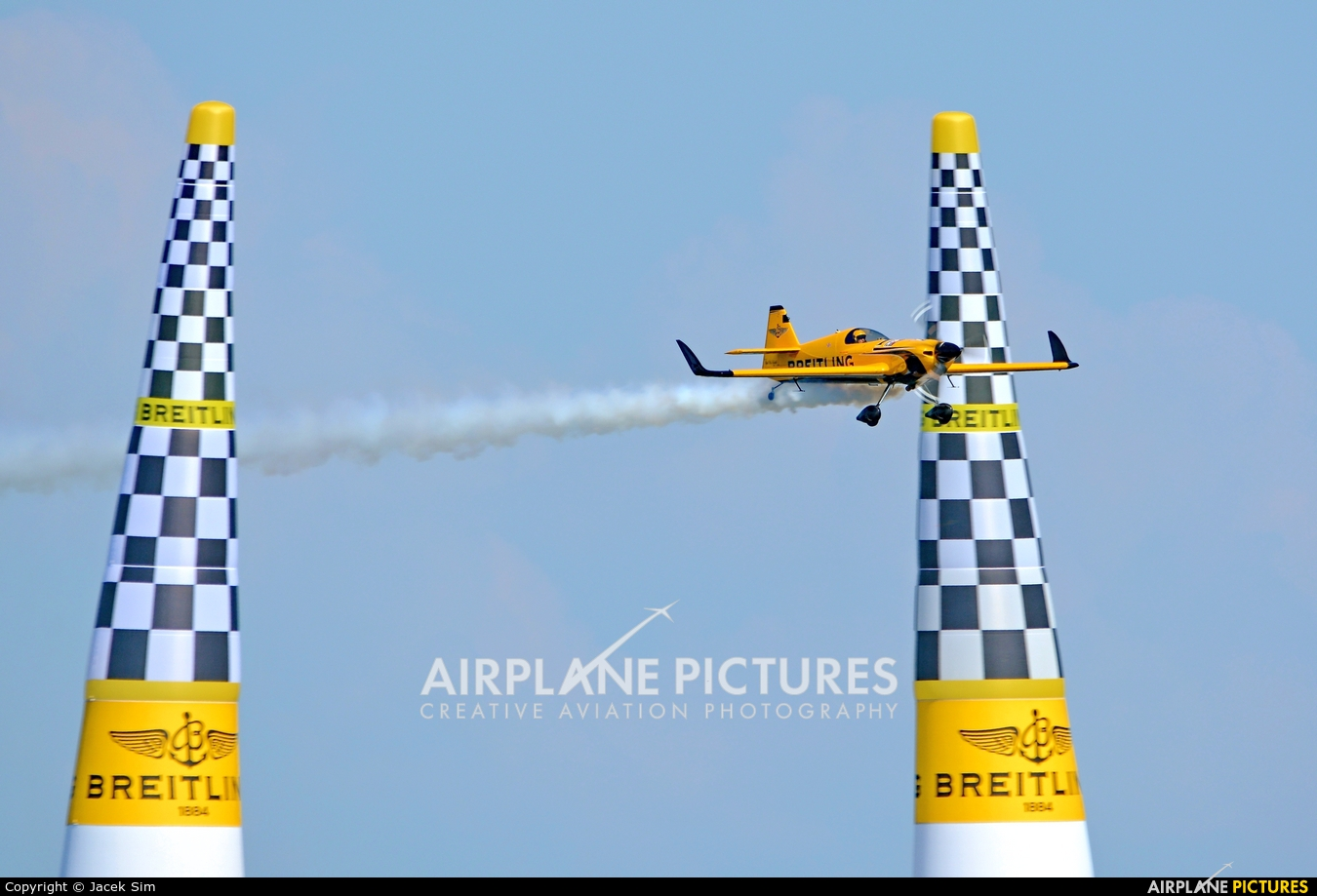 Breitling Devils N540XS aircraft at Gdynia