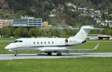 OE-HCA - AVAG Air Bombardier BD-100 Challenger 300 series