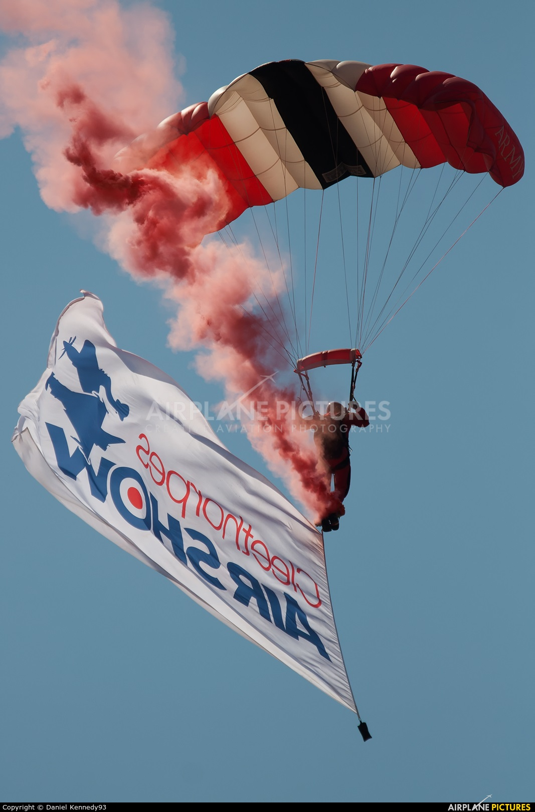 Red Devils Skydiving Team - aircraft at Cleethorpes
