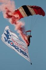 - - Red Devils Skydiving Team Parachute Parachutist