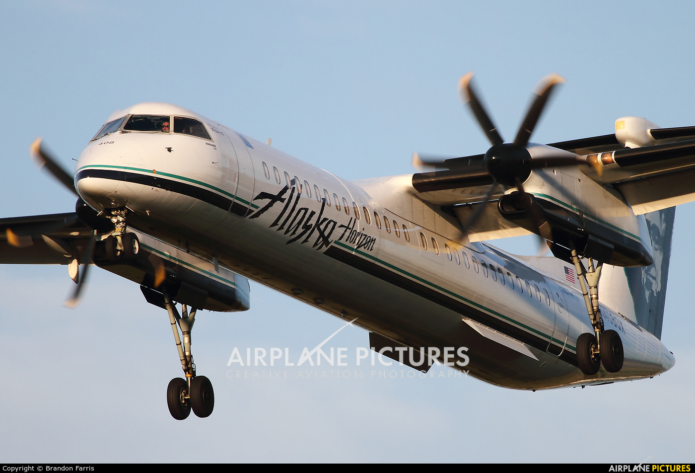 Alaska Airlines - Horizon Air N408QX aircraft at Portland