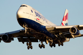 G-CIVI - British Airways Boeing 747-400