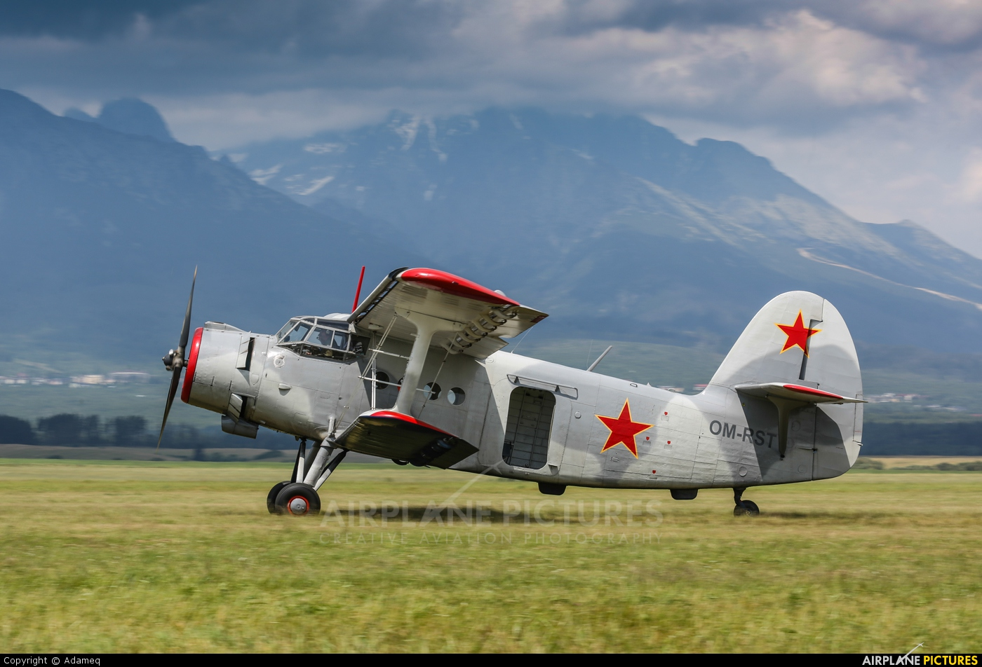 Private OM-RST aircraft at Poprad - Tatry