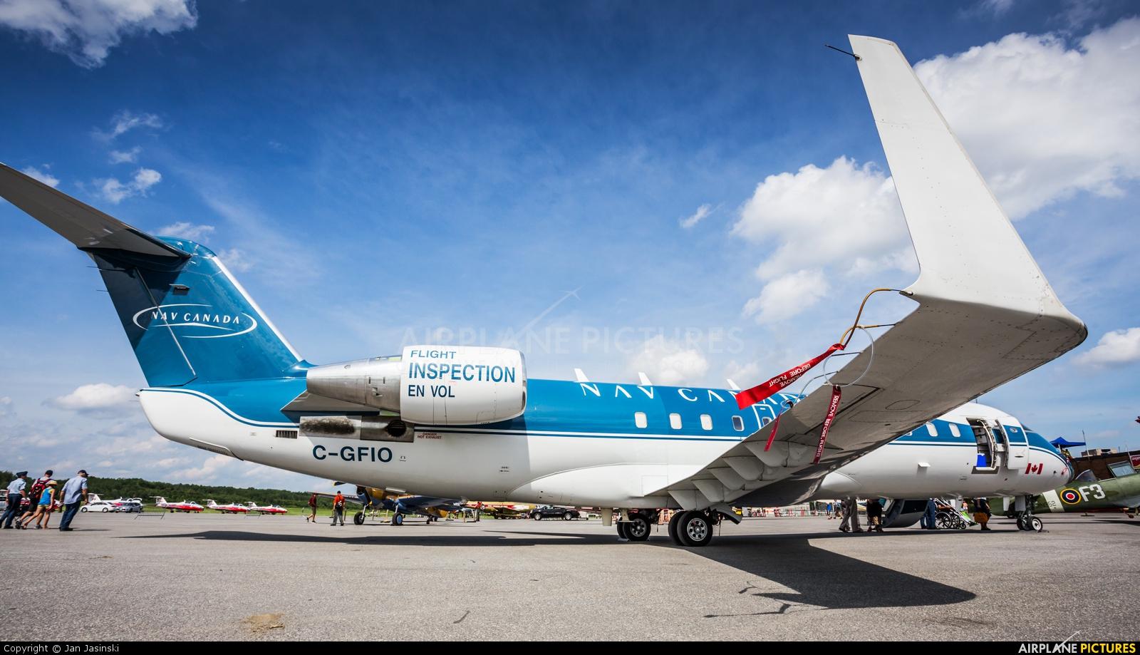 Nav Canada C-GFIO aircraft at Gatineau-Ottawa Exec, ON
