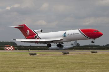 "G-OSRA - 2 Excel Aviation ""The Blades Aerobatic Team"" Boeing 727-200/Adv(RE) Super 27"
