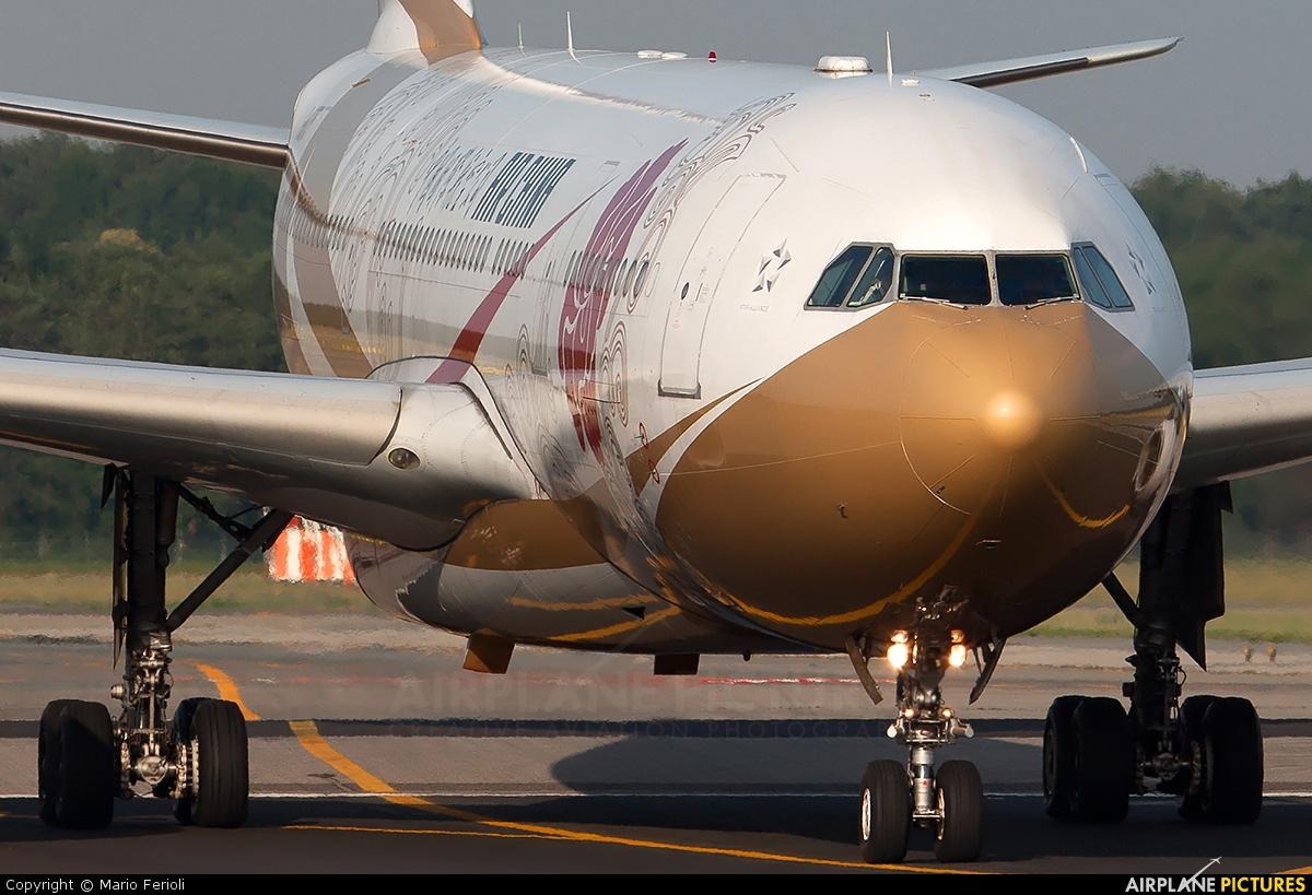 Air China B-6075 aircraft at Milan - Malpensa
