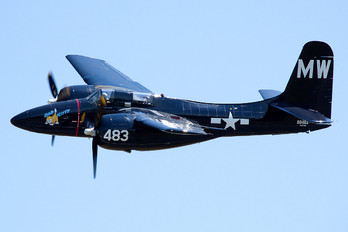 N6178C - Private Grumman F7F Tigercat