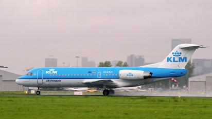 PH-KZO - KLM Cityhopper Fokker 70