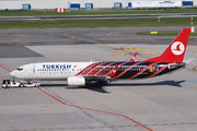 TC-JFV - Turkish Airlines Boeing 737-800 aircraft