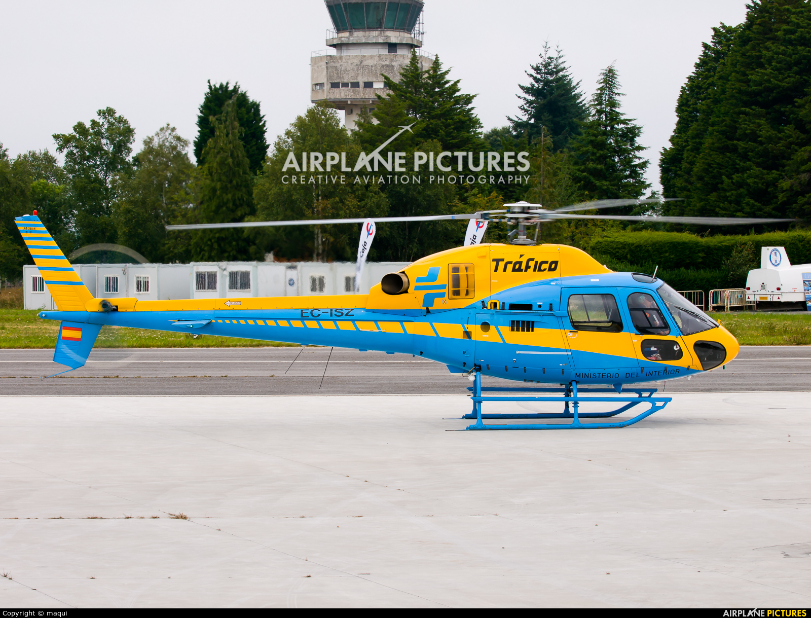 Spain - Government EC-ISZ aircraft at Lugo - Rozas