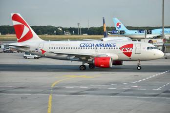 OK-NEN - CSA - Czech Airlines Airbus A319