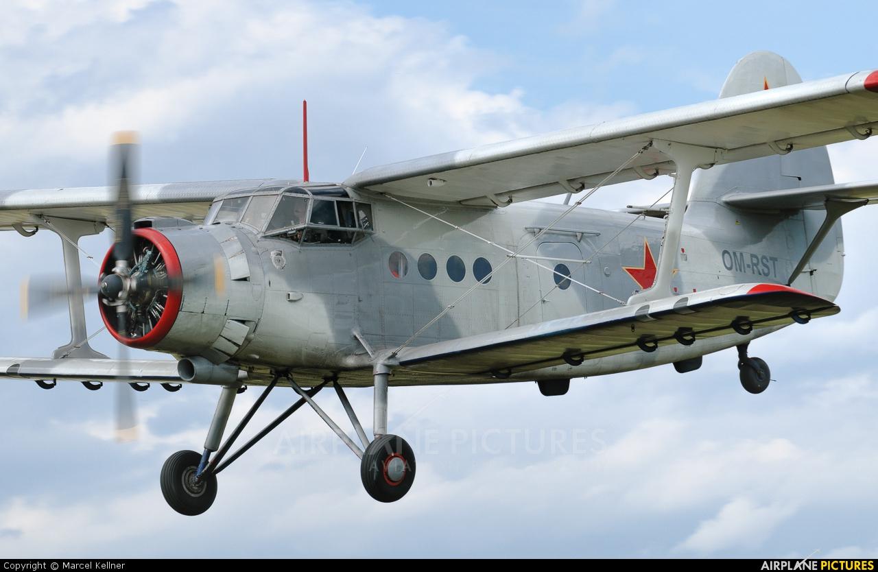 Private OM-RST aircraft at Poprad - Tatry