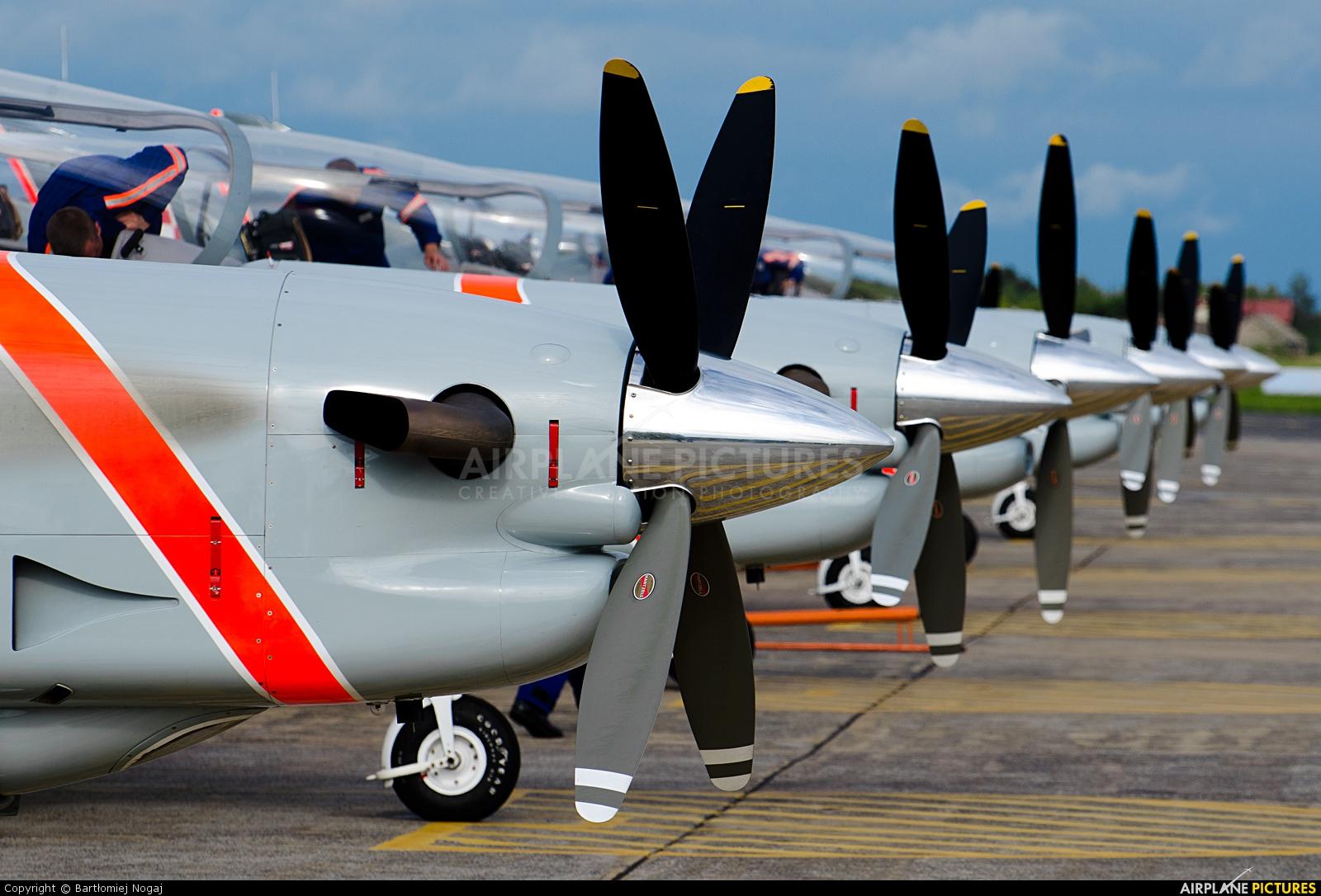 "Poland - Air Force ""Orlik Acrobatic Group"" 042 aircraft at Radom - Sadków"