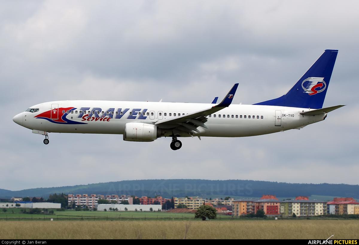 Travel Service OK-TVO aircraft at Brno - Tuřany
