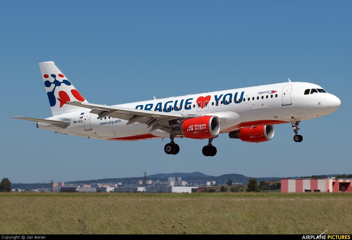 Travel Service OM-HCA aircraft at Brno - Tuřany