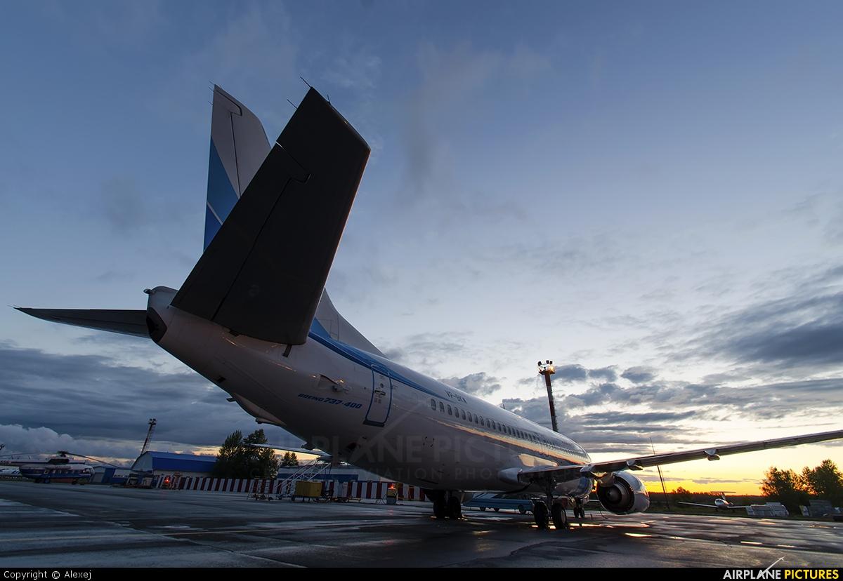 Yamal Airlines VP-BKW aircraft at Tyumen-Roschino