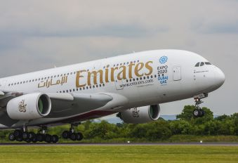 A6 EEK - Emirates Airlines Airbus A380