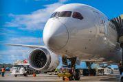 JA825J - JAL - Japan Airlines Boeing 787-8 Dreamliner aircraft