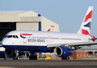 G-EUYV - British Airways Airbus A320