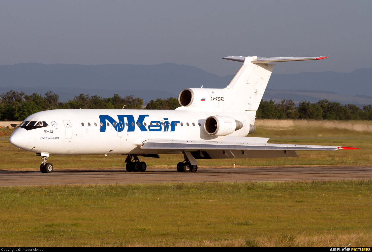 NK Air RA-42342 aircraft at Simferepol Intl
