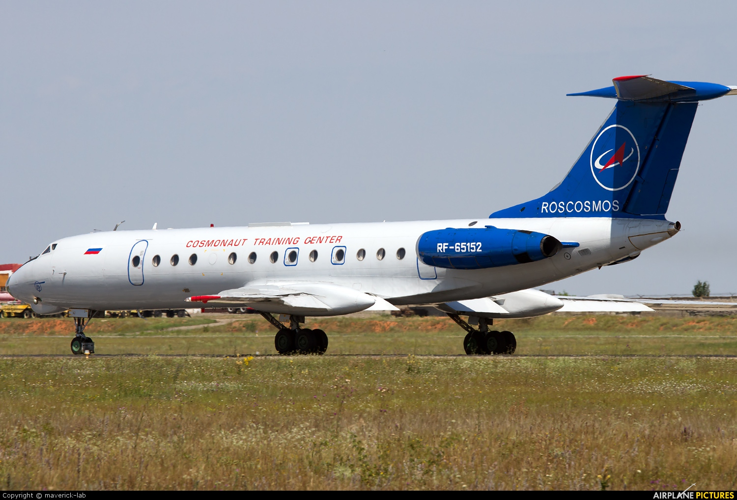 Russian Space Agency RF-65152 aircraft at Simferepol Intl