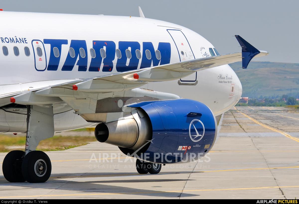 Tarom YR-ASC aircraft at Cluj Napoca - Someseni
